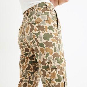 NWOT Madewell Camo Highwaisted Cargo Pant Women 25